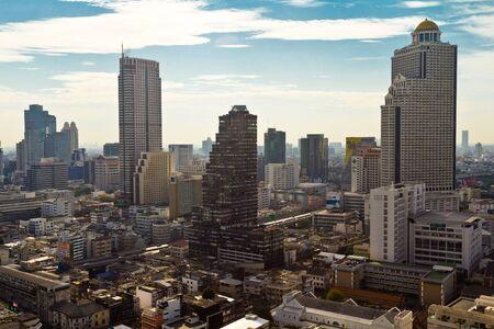 garden city: Horizonte de Bangkok Foto de archivo