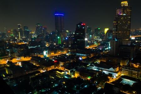 Bangkok durante la noche