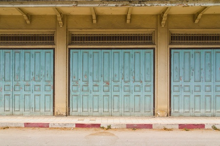 Old Wooden Doors Stock Photo - 9405437