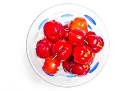 cup of cherries Stock Photo - 9698852