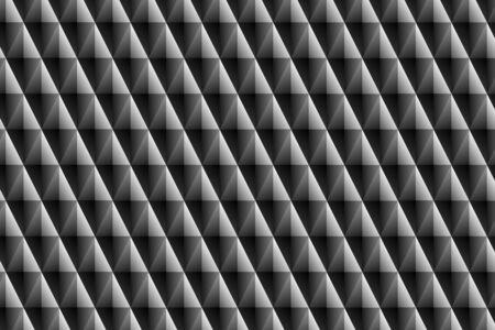 black prismatic ornament Stock Photo - 13225494