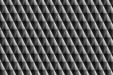 ornamento prism�tica negro Foto de archivo