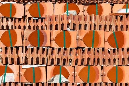 Pila de tejas