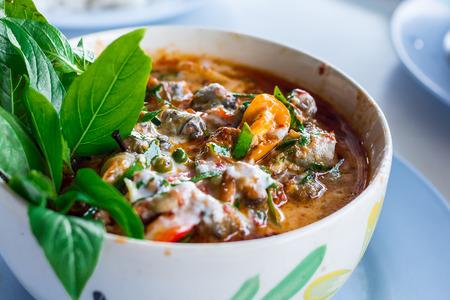 Curry tailand�s con mejillones - Imagen