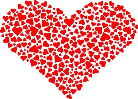 Love Heart Stock Vector - 15091560