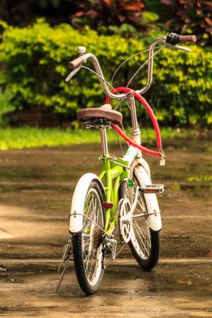 自転車で世界を救う 写真素材