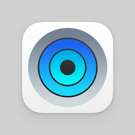 iconography: Colorful app icon.