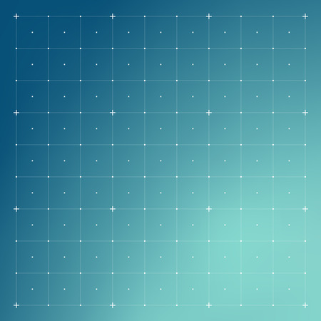 HUD interface with Grid. Vector