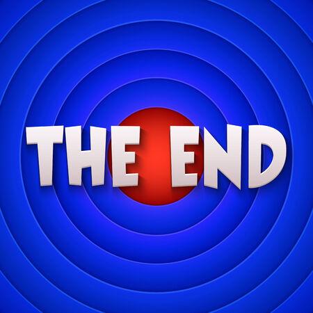 Movie ending screen. Vector Stock Vector - 34007808