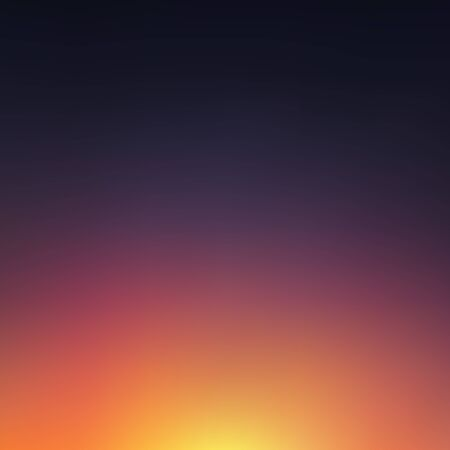 orange sunset: Abstract blurred sunset background. Vector Illustration