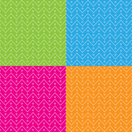 zag: Zig zag seamless pattern. Vector background