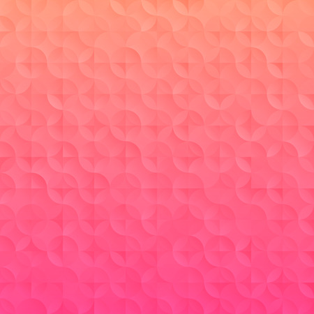 mosaic background: Simple gradient Technology background. Vector illustration with geometric elements Illustration