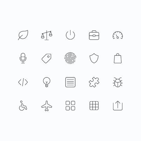 bugs shopping: Esquema de vectores iconos para web y m�vil. Thin 1 pixel ictus y 60x60 resoluci�n