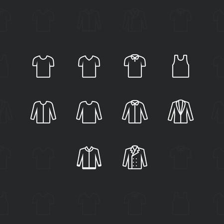 blazer: Fashion clothes Icons Illustration