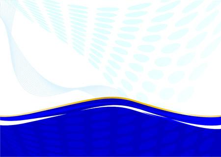 Abstract template - vector card; clip-art Vector