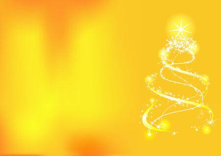 Kerst achtergrond met structuur en sterren. Vector illustratie
