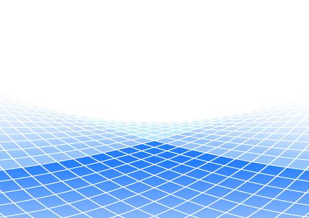 quadratic: Fondo cuadr�tica. Ilustraci�n vectorial