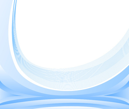 Blue background for documents; clip-art Stock Vector - 6325408