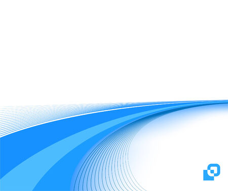 corporate background: blue business background template; clip-art Illustration