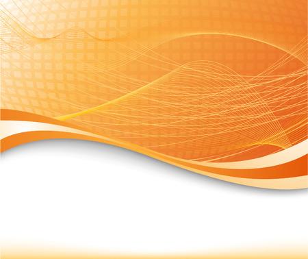 Sunburst background in orange color textured; clip-art