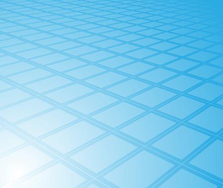 Blue high-tech digital background; clip-art Vector
