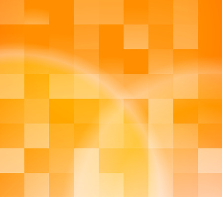 Abstract orange tiles background. illustration Vector