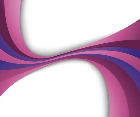 violet wave. illustration Stock Vector - 6844521