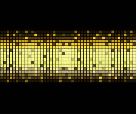 Abstract golden Background. Abbildung