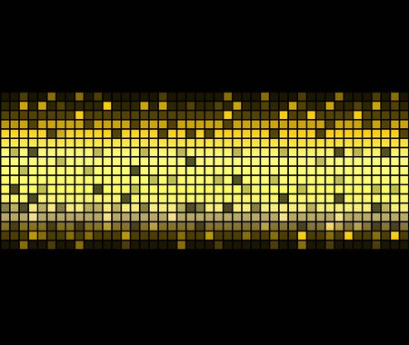 Abstract golden background. illustration