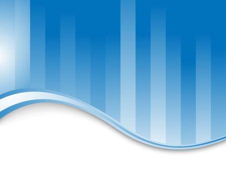 Blue corporate background. illustration Stock Vector - 6844491