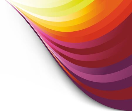 Colorful rainbow background template. Clip-art