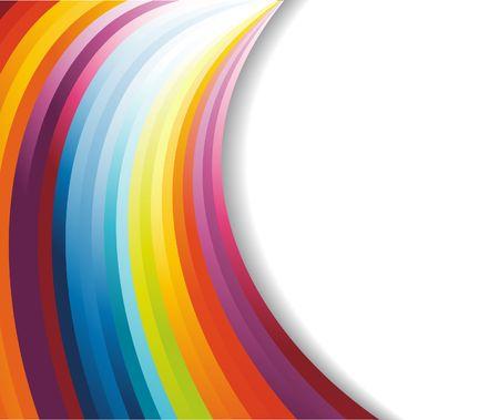 banner orizzontali: Banner orizzontale arcobaleno