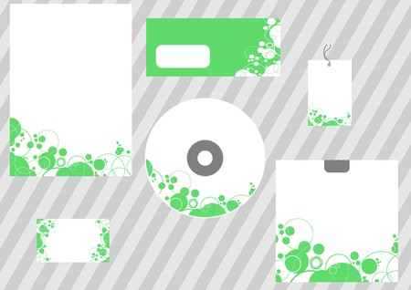 Abstract business template - corporate style. illustration Vector