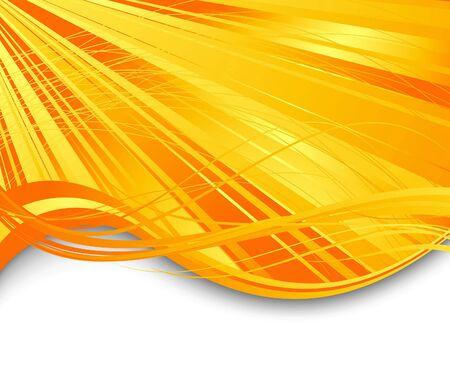 Sunburst ray abstract banner.  illustration Vector