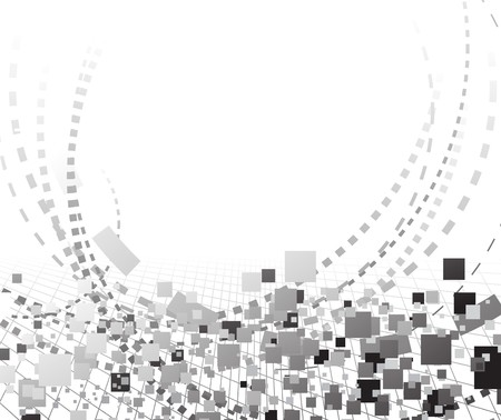 Abstract halftone technology background.