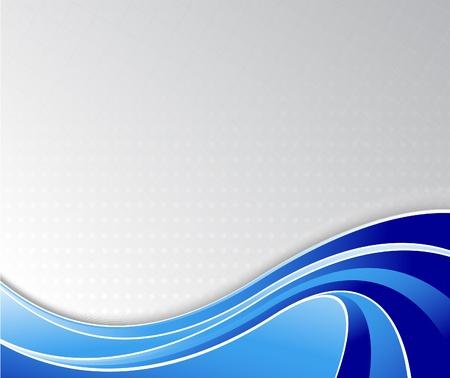 curvas: Dise�o de alta tecnolog�a de folleto. Ilustraci�n vectorial Vectores