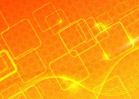 hi tech background: Computer vector background. Vector illustration