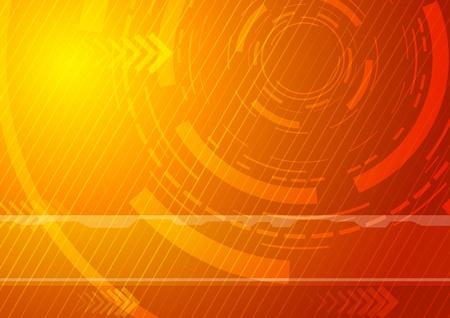 telecomunicaci�n: Sunburst - Fondo de Tecnolog�a. Ilustraci�n vectorial Vectores