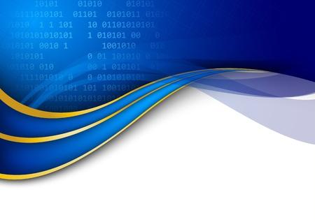 Modern technology background template. Vector illustration Illustration