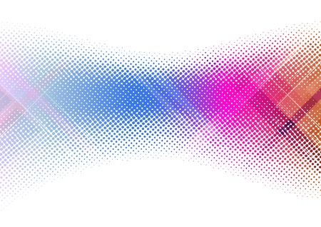halftone background: Creative colorful background template  illustration