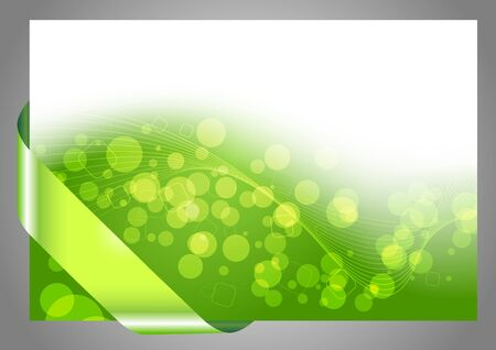 lime green background: Green halftone bokeh background.  Illustration