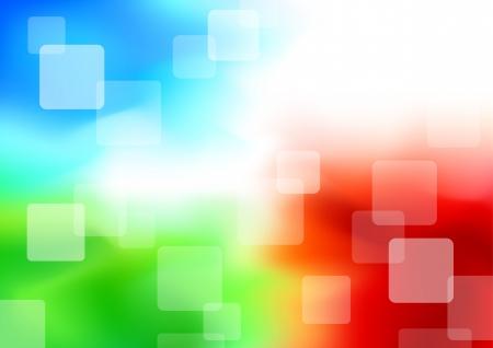 synergie: Bunte transparentem Hintergrund - Synergie. Illustration