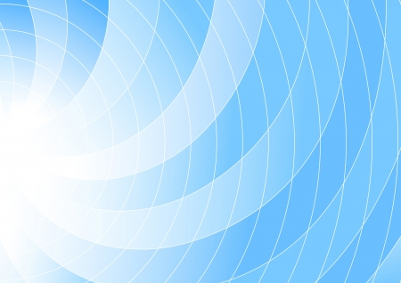 Blue colored swirl background - abstraction  illustration Vector