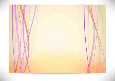 header image: Beautiful background with halftone lines  illustration