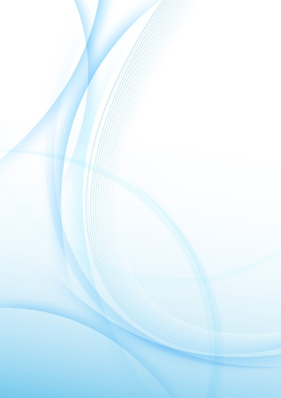 azul: Moderno abstracto certificado plantilla de fondo Ilustración vectorial