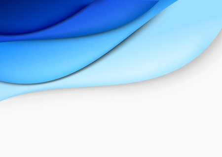 communicative: Blue layout - abstract template  Vector illustration Illustration