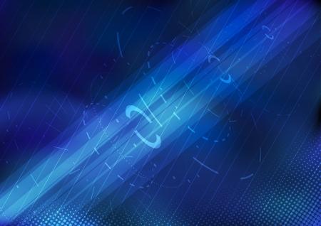 Technologische achtergrond - tandwielen Vector illustratie Vector Illustratie