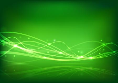 impulse: Transparente Energiewelle - abstrakte Banner Vektor-Illustration Illustration