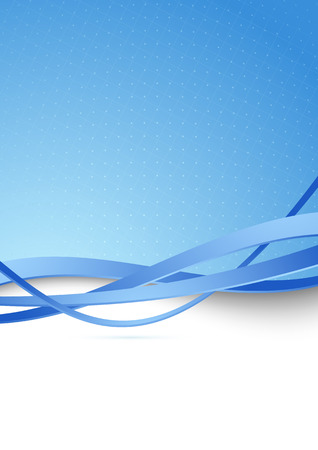 Modern blue hi-tech abstract illustration Stock Vector - 25524251
