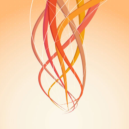 Abstract speed rays - bright background. Vector illustration Vector